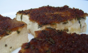 savory baked tofu low fat recipe