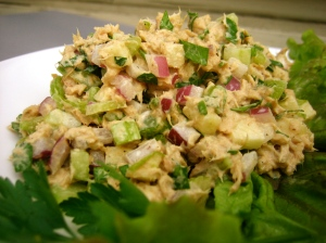 tuna apple salad low carb