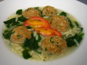 Greek Wedding Soup Low Fat Recipe